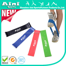 Ainisports ANY-001 4pcs heat Non latex bulk resistance bands set with elatix stretch for fitness and workout