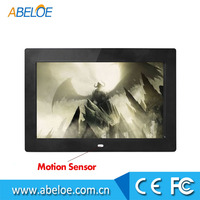 10 inch LCD screen digital photo frame with remote control suitable for shop display