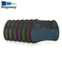 Big sale H9 Backlit Keyboard LED Gaming Keyboard USB Colorful backlight Keyboard with Floating Keys