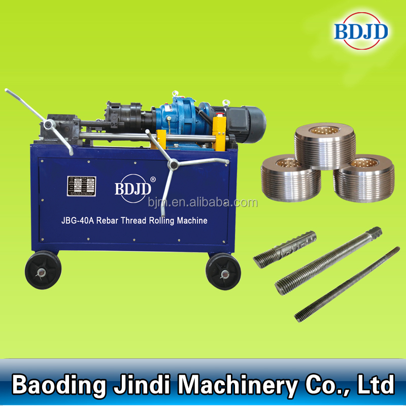 Automatic thread rolling macine cold rolling rebar machine