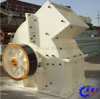 High Crushing Ratio 50-800t/h hammer crusher drawing