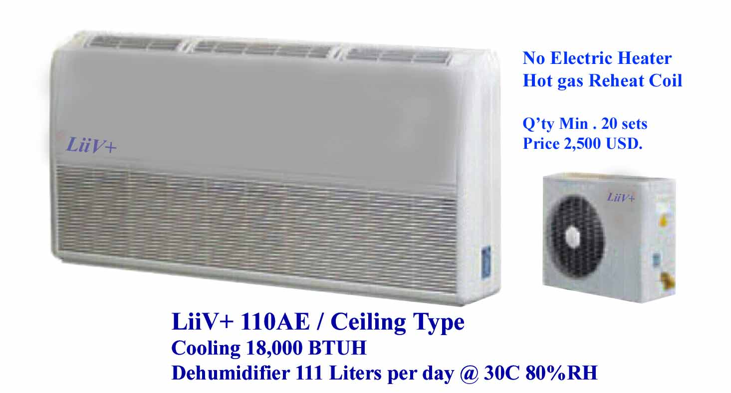 split type dehumidifier
