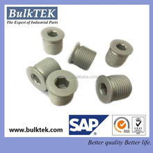 China best quality aluminum anodized hex pulg screw