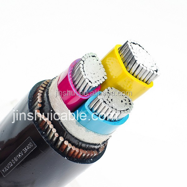630mm2 PVC Insulated Power Cable 0.6/1KV