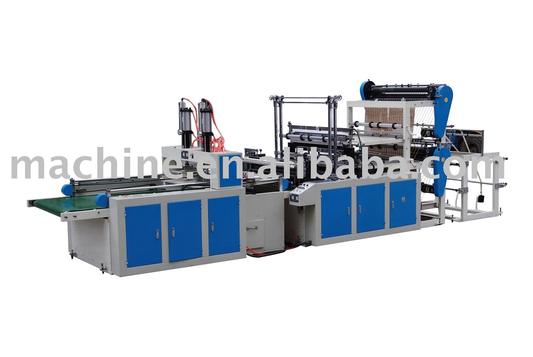 4 lines automatic t-shirt bag making machine