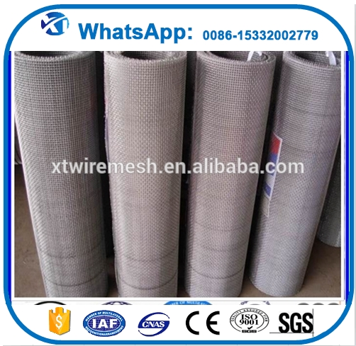 Alibaba express 304 stainless steel wire mesh price per meter made in china