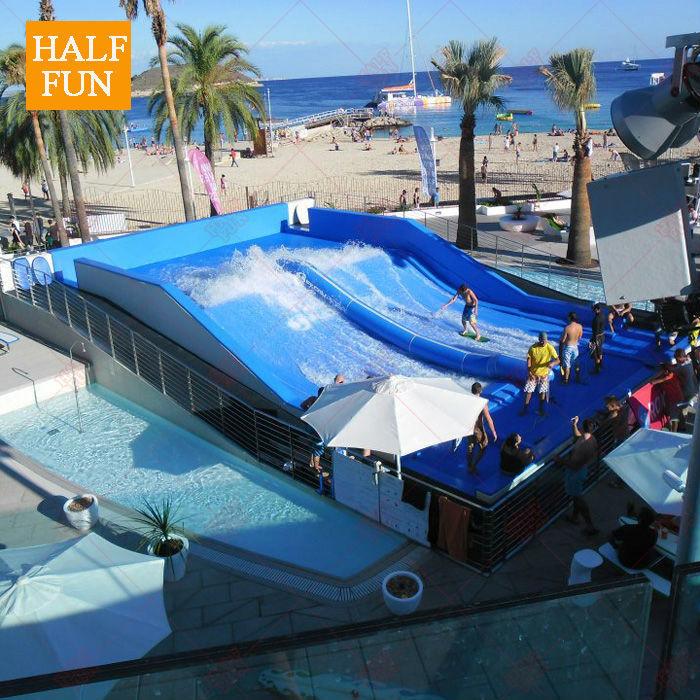 Medio nuevo producto piscina de surf equipo de juego de for Piscina wave