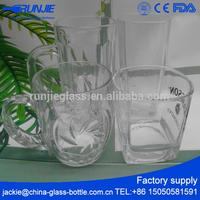 Custermized MOQ Different Requirements drinking glass with round bottom