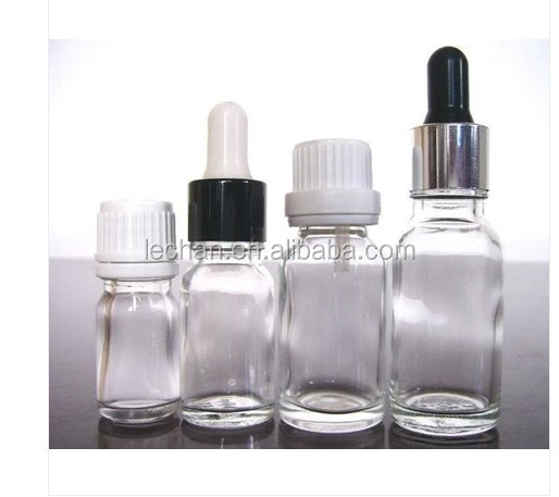 Acid Etch Surface Handling and Essential Oil Use 10ml clear glass dropper bottle for e liquid
