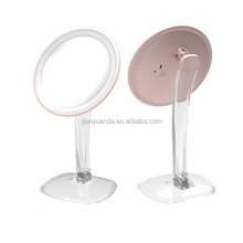 best selling 10x magnifying desk top lighted makeup mirror