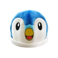 High quality personalized design fashionable natural material soft cute plush pokemon hat