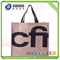 New fashion free sample high quality promotion pp nonwoven shopping bag eco tnt nonwoven bags
