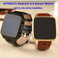 Latest SZ9 mtk6572 wifi 3g smart watch mobile phone