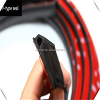 3M tape self adhesive sound proofing epdm car door rubber seal strip