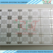 High Thermal Conductivity Alumina / AL2O3 / ALN Metallized Ceramic Substrate For LED PCB