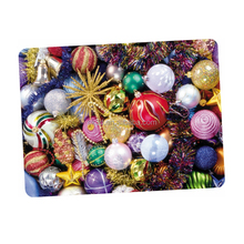 New Popular Customized Plastic vinyl christmas placemats