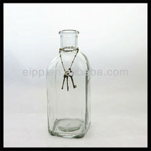 Tall Bud Clear Glass Bottle Vase