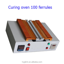patch cord production equipment horizontal type100 ferrules Curing oven fiber optic welding machine
