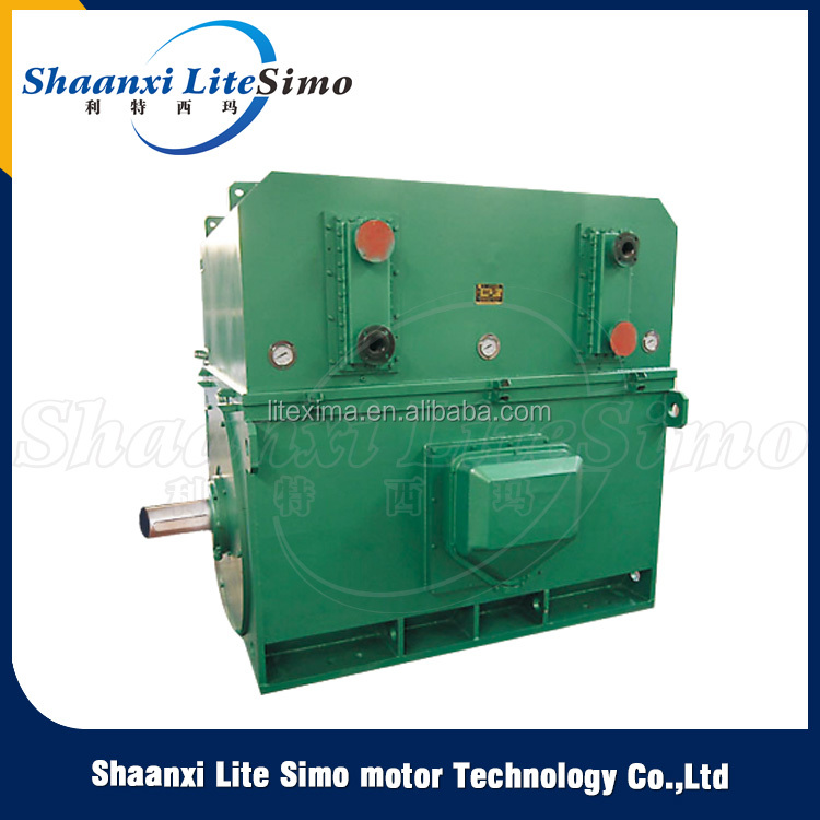 New Type Modern Style 315 KW 495 r / min YkS high voltage three phase slip ring induction electrical motor
