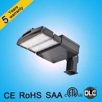 5 years warranty 120lm/w IP65 Parking lot light high quality 100w 200w 50w led shoebox light