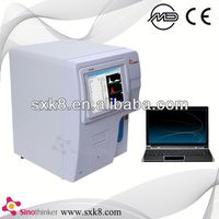 SK9000 high quality new simple hematology analyzer quality as mindray