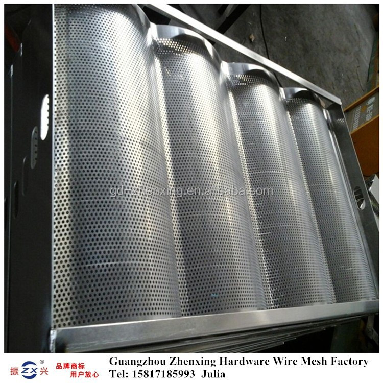 Wholesale stainless steel perforated metal mesh tray (manufacturer) ZX-CKW35
