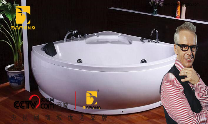 BYG15QB Hot Sale Freestanding Corner Bathing Tubs Supplier Hot Spa Tubs Factory