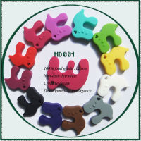 China Supplier New Product Non-Toxic 100% Food Grade Silicone Giraffe Teether Wholesale