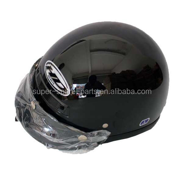 China hot sale black motorcycle helmet