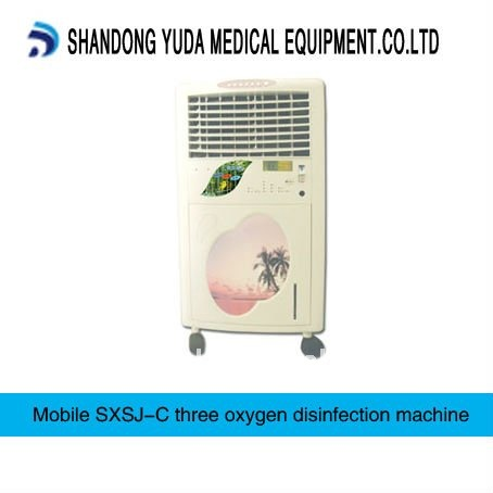 medical movable ozone air sterilizer equipment