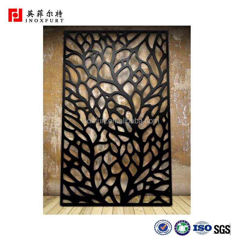 Hot sales !!! room partition screen / room divider / home decor garden metal panels for landscaping