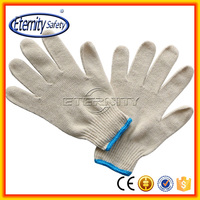 Good supplier protection safety cotton gloves