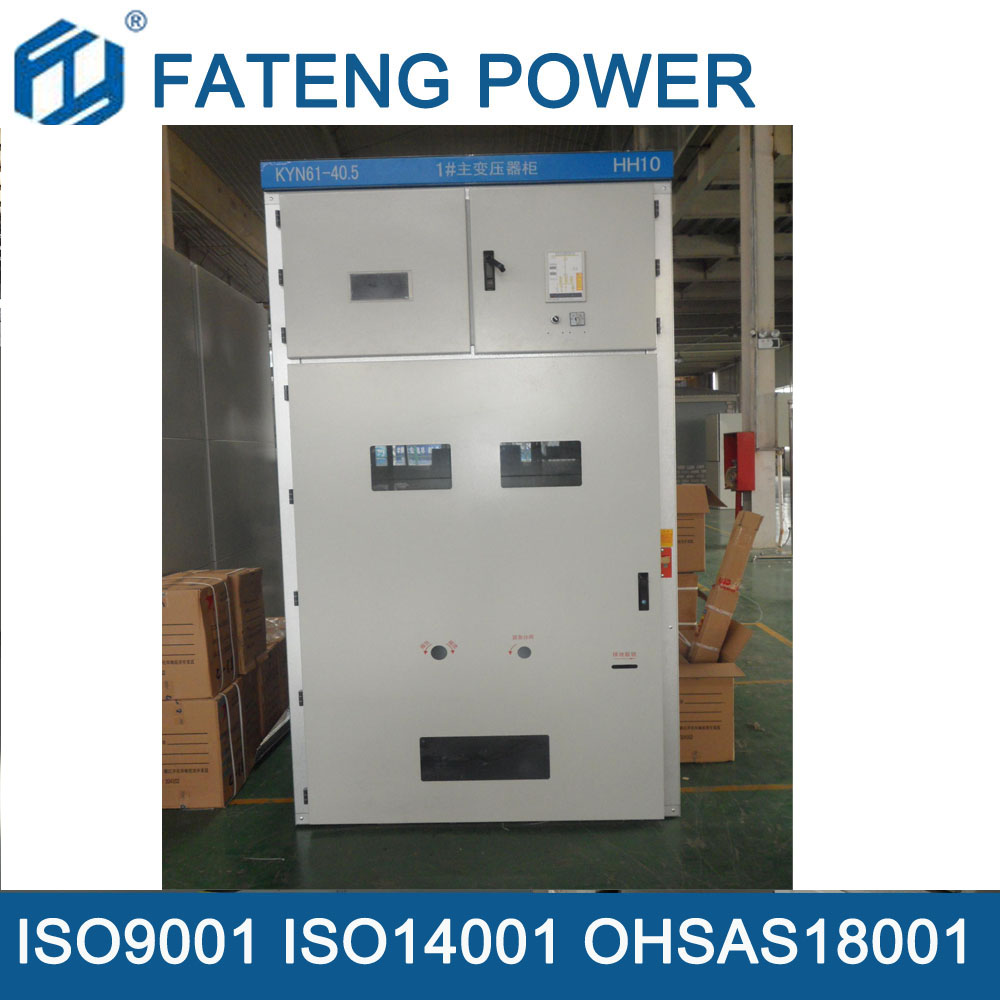 KYN58 Metal clad withdrawable Switchgear 33KV 35KV small size, one container can be put3pcs