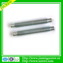 Factory threaded stud drive pin
