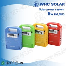 Solar Energy Charge Mini Two Way Ham AM FM Portable Motorcycle Radio