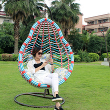 Leisure Garden Hanging Egg Rattan Chair Outdoor Swing Chair D023