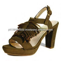 Shoes in leather Nobuk 9714