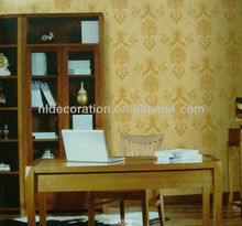 2013 the PVC wallpaper for home decoration