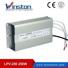 CE ROHS IP67 LPV-250-12 12V 20A 250W LED constant voltage waterproof switching power supply