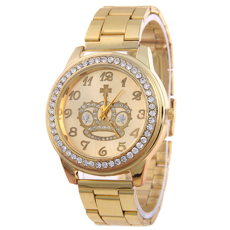 steel gold watches for wholesale geneva