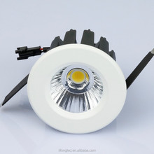 Professional commercial led lighting 3w COB height 40mm cabinet downlight