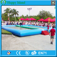 HI CE best selling popular outdoor inflatable sunshine pool,inflatable adult swimming pool