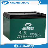 6-DZM-12 12v 12ah Electric Motorcycle Battery