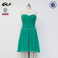 Eco-friendly European New Style chiffon evening dress for women;new model girl dress;night dress