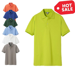 2015 Wholesale Polyester/ Spandex Polo-Shirt