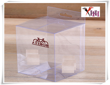 Customized Small Clear PVC PET PP Plastic Gift Packaging Boxes