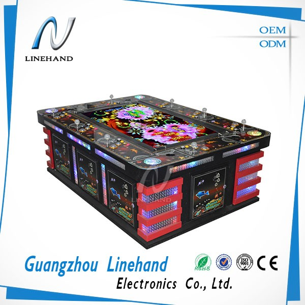 Earn money fish racing machine coin/bill operated equipment 8 players fish machine casino machine
