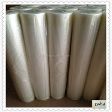 PVA cold water soluble film nonwoven interlining fabric dissolving in water for garment