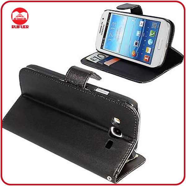 RF Manufacturer Folio Pouch Stand Flip Wallet Leather Phone Case for Samsung Galaxy Grand Duos I9082