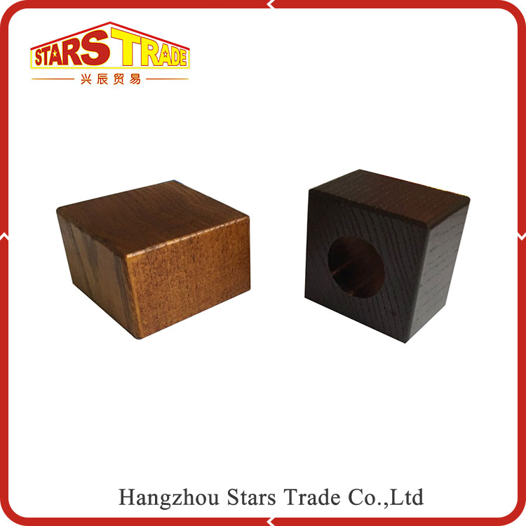 High Performance Professional Manufacture square Perfume Bottle wood Caps